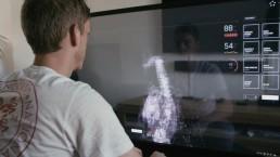 transparant scherm
